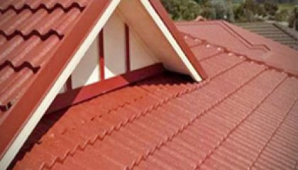 Building-Red-roof-Painting